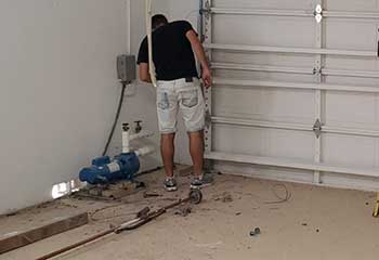 Garage Door Track Repair In Lawrenceville GA